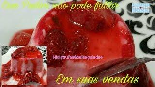 Download PUDIM DE MORANGO NO POTE(FACA,&VENDA) Video