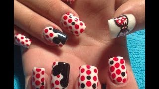 Download UÑAS DECORADAS/uñas de acrilico Mickey Mouse /Mickey Mouse decoration nail Video