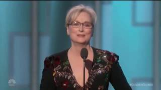 Download Meryl Streep SLAMS Donald Trump at the Golden Globes - Conservatives Get TRIGGERED!! Video