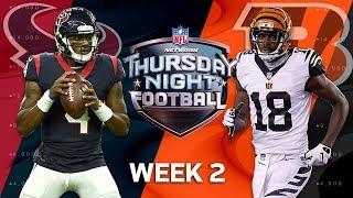 Download Houston Texans vs. Cincinnati Bengals | Week 2 Preview | NFL Playbook Video