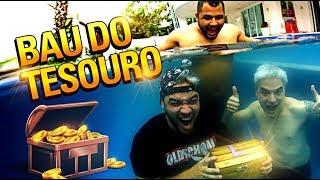 Download CAÇA AO TESOURO NA PISCINA DOS IRMĀOS NETO! Video