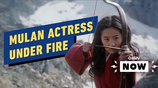 Download Mulan Actress Liu Yifei Faces Boycott for Hong Kong Protest Comment - IGN News Video
