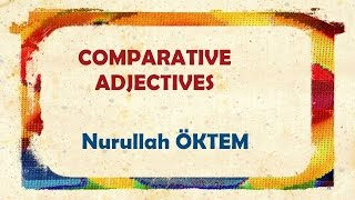 Download İngilizce Dersi 65 - Comparative Adjectives (Karşılaştırma Sıfatları) Video