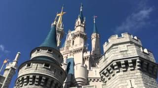 Download A walk around Cinderellas castle at Magic Kingdom Video