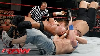 Download Cena vs. Orton vs. Triple H vs. Big Show — Fatal 4-Way WWE Championship Match: Raw, June 15, 2009 Video