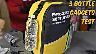 Download 3 Water Bottle Gadgets Test Video