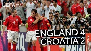Download ENGLAND beat CROATIA at EURO 2004 Video