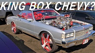 Download CRAZY Supercharged Convertible Box Chevy on Forgiatos - Clash of the Titans Car Show Video