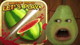 Download Pear Plays - FRUIT NINJA! Video