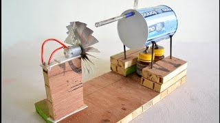 Download How to Make Steam Power Generator Video