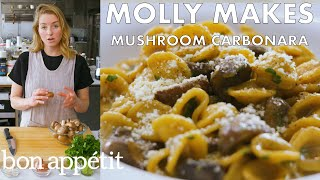 Download Molly Makes Mushroom Carbonara | From the Test Kitchen | Bon Appétit Video