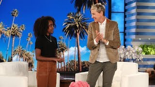 Download Young Gun Control Activist Naomi Wadler Visits Ellen Video