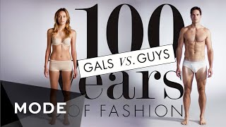 Download 100 Years of Fashion: Gals vs. Guys ★ Mode Video