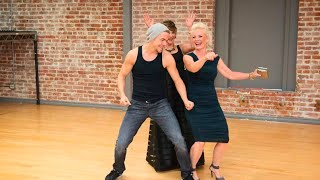 Download Derek Hough & Mark Ballas' Mothers - Marriann & Shirley - Styling Video/Photo Shoot for DWTS Finale! Video
