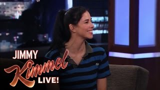 Download Sarah Silverman Talks to Matt Damon About Her Relationship with Jimmy Kimmel Video