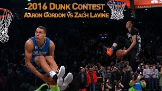 Download Zach LaVine and Aaron Gordons AWESOME 2016 Slam Dunk Duel Video