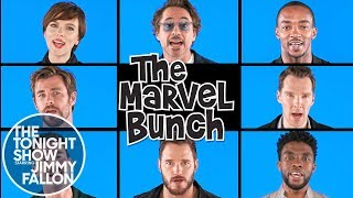 Download Avengers: Infinity War Cast Sings ″The Marvel Bunch″ Video