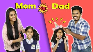 Download Mom Vs Dad Funny Video | Pari's Lifestyle Moral Story Video