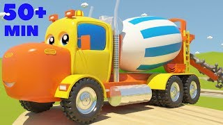 Download Mighty Machines Construction Song Part 3 | Plus Other Top Nursery Rhymes Compilation Video