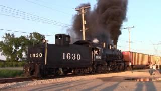 Download Frisco 1630 pulls a 135 car Coal Train! Video