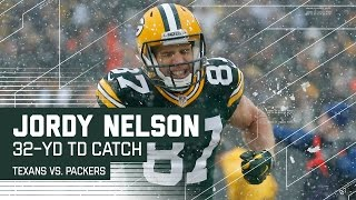 Download Aaron Rodgers Caps Off 98-Yard Drive with 32-Yard TD Pass to Jordy Nelson | Texans vs. Packers | NFL Video