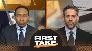 Download Stephen A. and Max react to Rockets defeating Warriors in Game 2 | First Take | ESPN Video
