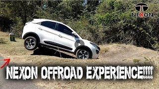 Download TATA NEXON OFFROAD EXPERIENCE DIESEL XZ+ WHITE . CAR STUNT Video
