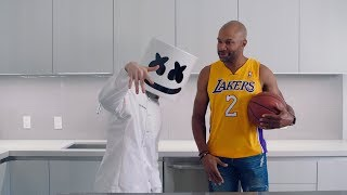 Download DIY Ring Pops (Feat. LA Lakers - Derek Fisher) | Cooking with Marshmello Video