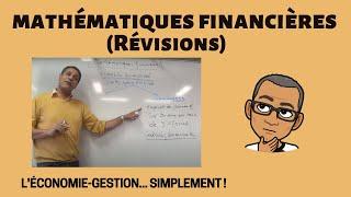 Download Révision des Mathématiques financières (DUT TC - LE CREUSOT) Video