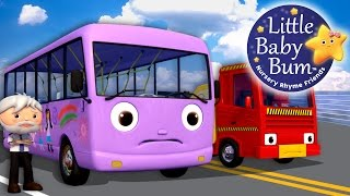 Download Wheels On The Bus | Part 9 | Nursery Rhymes | By LittleBabyBum! Video