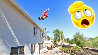 Download SKETCHY ROOF JUMPING! Video
