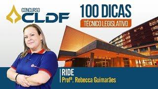Download Concurso CLDF Técnico   Dicas diárias até a prova! RIDE - Prof. Rebecca Guimarães Video