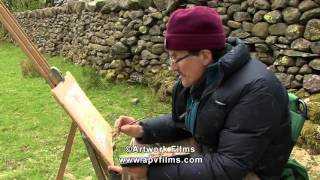 Download ATMOSPHERIC WATERCOLOURS Painting on Location David Curtis Video