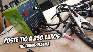 Download Poste à souder TIG à 250 euros - VARAN CT 312 Video