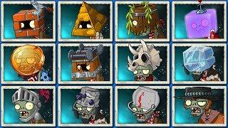 Download Plants Vs Zombies 2 Todos Los Zombies Mas Resistente del Juego Video