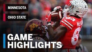 Download Highlights: Minnesota at Ohio State | Big Ten Football Video