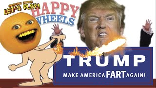 Download Annoying Orange Plays - Happy Wheels: TRUMP Make America FART Again! Video
