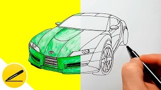 Download How to Draw a Car - Toyota - step by step ★ Video