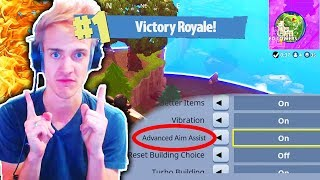 Download NINJA Gave Me The BEST Settings in Fortnite Battle Royale! (Ninja Best Settings in Fortnite) Video