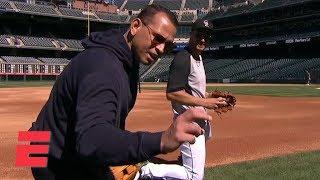 Download Nolan Arenado shows Alex Rodriguez why he's a Gold Glove third baseman | MLB on ESPN Video