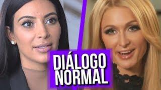 Download Diálogo Normal Kim Kardashian e Paris Hilton Video