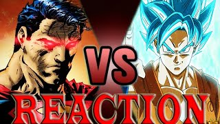 Download Goku VS Superman 2 | DEATH BATTLE! LIVE REACTION - THE OBVIOUS CONCLUSION Video
