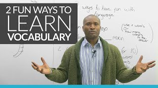 Download 2 fun new ways to learn English vocabulary Video