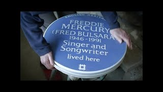 Download Freddie Mercury - Remembered With A Blue Plaque Video