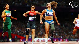 Download Athletics - Women's 100m - T42 Final - London 2012 Paralympic Games Video