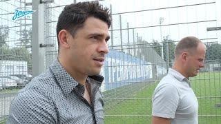 Download Эксклюзив «Зенит-ТВ»: Жулиано прибыл на базу в Удельный парк Video