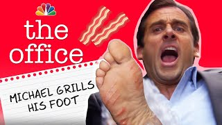 Download Michael Grills His Foot - The Office Video