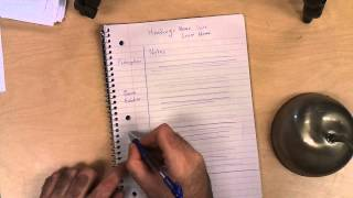 Download Cornell Notes - Interactive Notebook Video