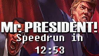 Download Mr.President! Speedrun in 12:53 Video