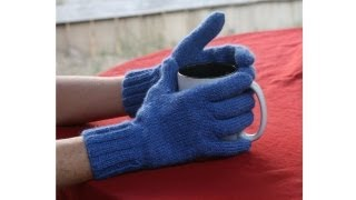 Download Learn to Knit Gloves, Parts 1-9 Video